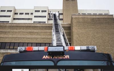 Grease Fire at University of Michigan Hospital