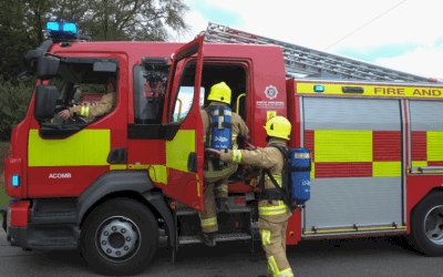 70 Rescued From Kitchen Blaze