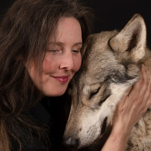 British Lupine Dog With Founder Natalie Langstrom