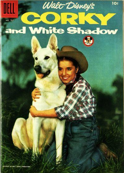 Corky And White Shadow Comic Book Cover