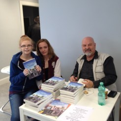 Today at the Atrium our first interested party was a young lady who got the book for her mother.