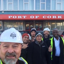 Port of Cork with Seamen
