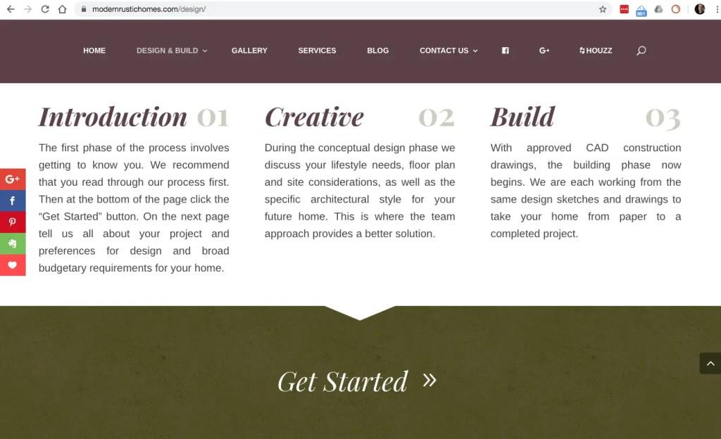 Design Build lead generation