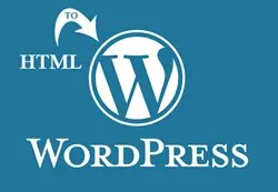 Learn more about converting from HTML to WordPress