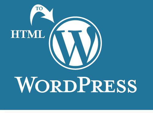 HTML conversion to WP