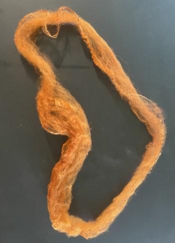 04 silk hankie stretched