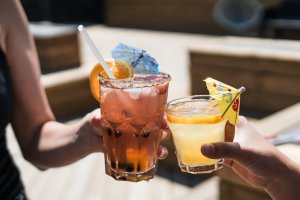 Summer Money Wins Cheers with Fruity Drinks