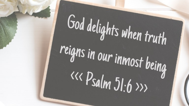God Delights When Truth Reigns – find yours here!