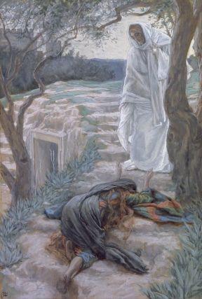 Mary at tomb