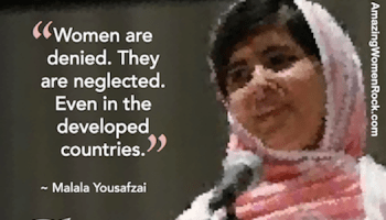 Shequotes Shequotes Malala On Strength Quotes Women Girls