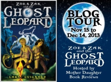 Ghost Leopard - Blog Tour Button