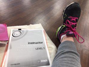Training as Zumba Instructor