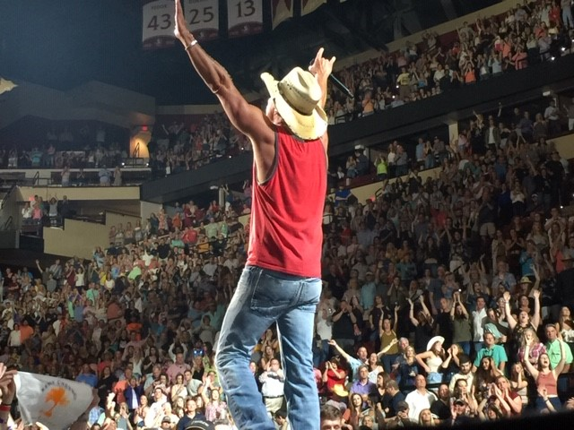 Kenny Chesney Songs for the Saints Tour