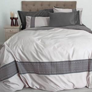 Sheraton Tassle 400TC Embroidered Duvet Cover Set
