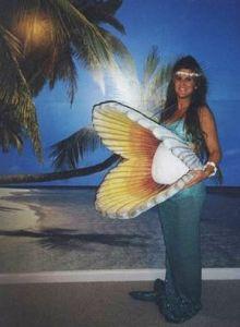 Mermaid Pearl Maternity Costume