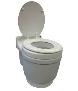 Dryflush toilet by Laveo