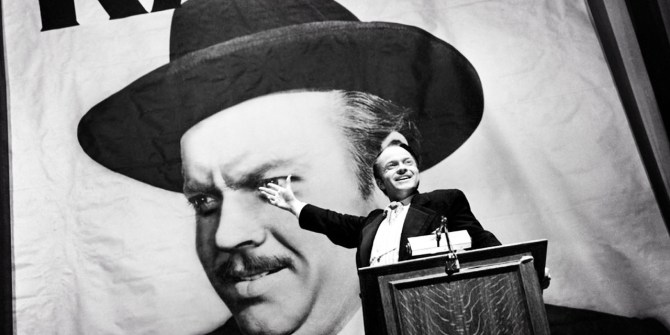 Orson Welles Citizen Kane