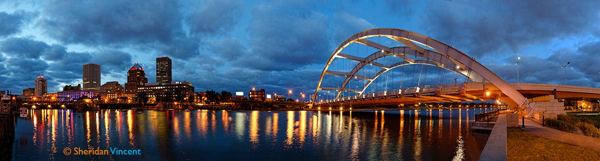 Rochester Ny Skyline Night