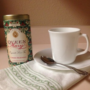 #TuesdayTea Cherry Marzipan Tea from Queen Mary Tea Room