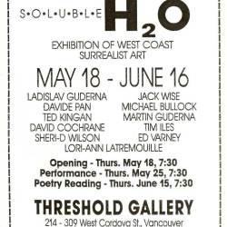 1989 Melmoth Handbill