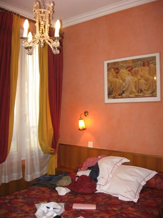 Paris - Our room in Hotel du Levant