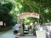 Fontaine - Restaurant Philip on the riverside