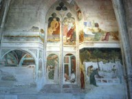Giovanetti frescoes in the Chapel