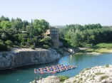 Pont du Gard - playground in the shadow of the arches