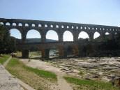Pont du Gard -span of the bridge