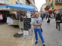 In the Sarlat market