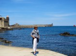 Some woman at Collioure