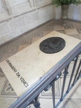 Da Vinci's tomb