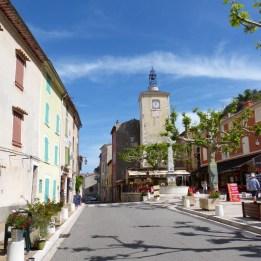 Place de la Fontaine, Aiguines