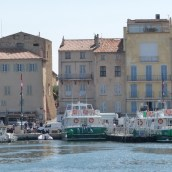 The pastel colours of St Tropez that I love
