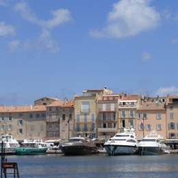 Iconic view of St Tropez