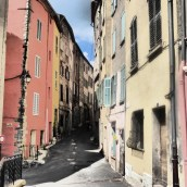 Colourful Callas street
