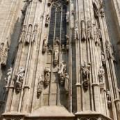 Intricate sculpted statues