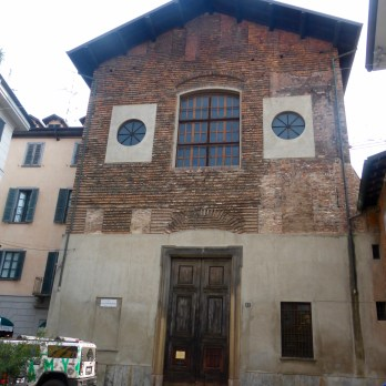 Old building in Brera