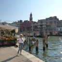 The Grand Canal, near our hotel