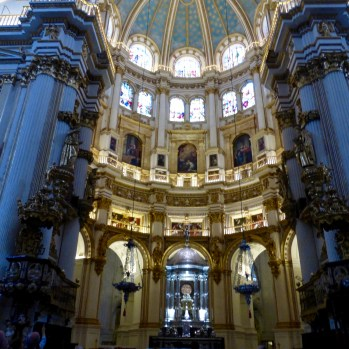 Looking to the high altar