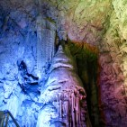 Multiple colours in the caves