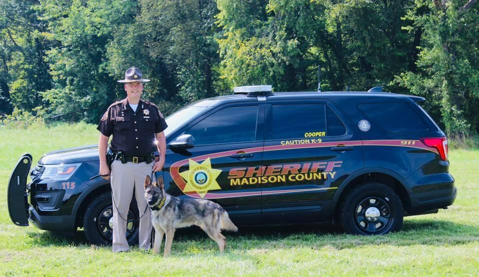 Deputy Bol is the K9 Handler for Cooper