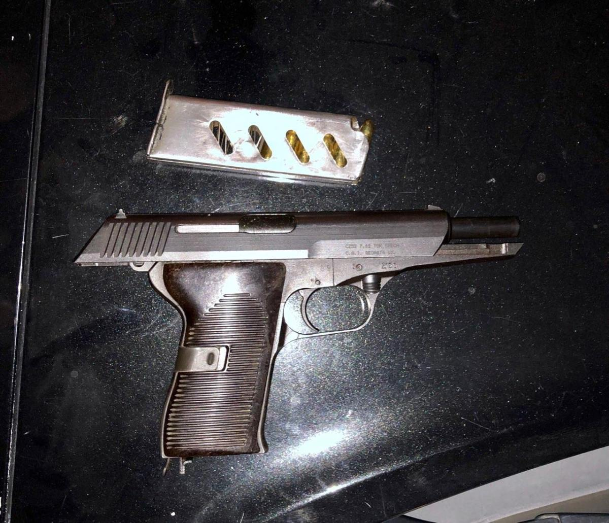 GANG MEMBER ARRESTED WITH A LOADED FIREARM HIDDEN IN HIS WAISTBAND