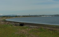 Looking back at Semiahmoo resort from our picnic spot