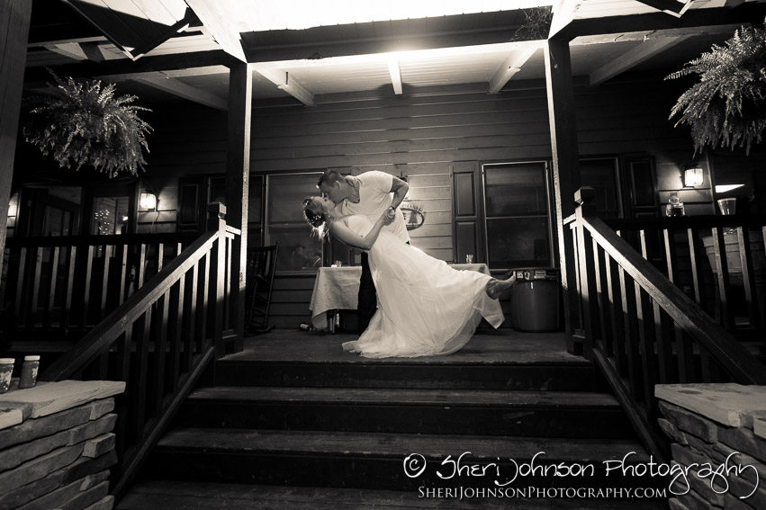 Cassie & Chris Tanglewood Lodge Wedding in Helen, GA