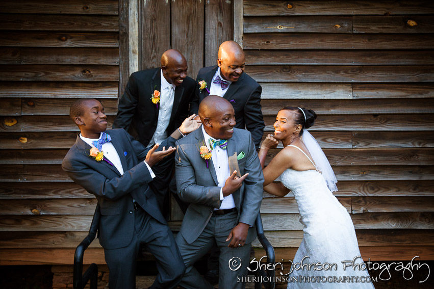 Marcia & Bryan Wedding at Killian Hall in Lilburn GA