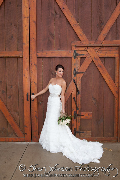 Bridal portrait pre-ceremony at The Reid Barn in Cumming, GA