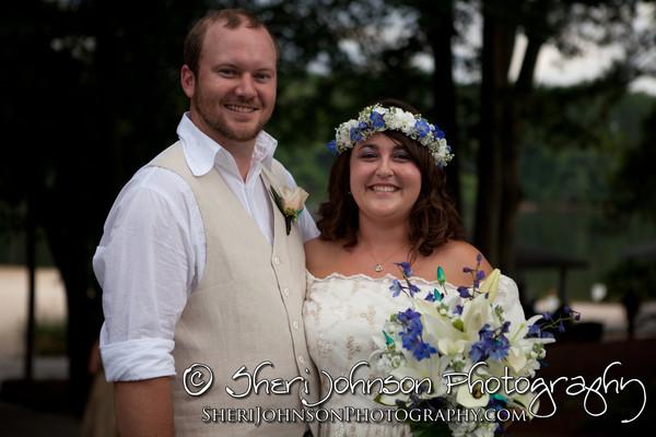 Jenn & Eric's Stone Mountain Wedding... Just Married