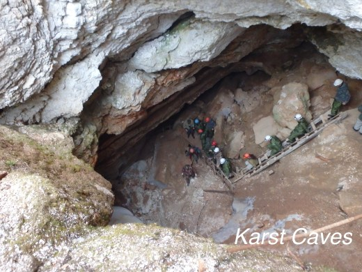 Anna in Russia: Karst Caves