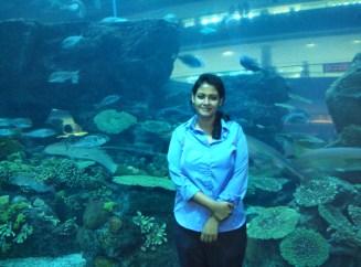 Sheril at Dubai Mall